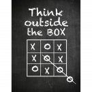 Poster - Think outside the box 50x70